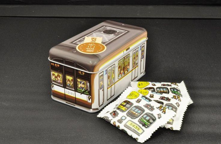 東京三歩 電車缶 副都心線10000系(ショコラ) | メトロの缶詰(東京メトログッズ・電車ケーキ・鉄道グッズ通販サイト)