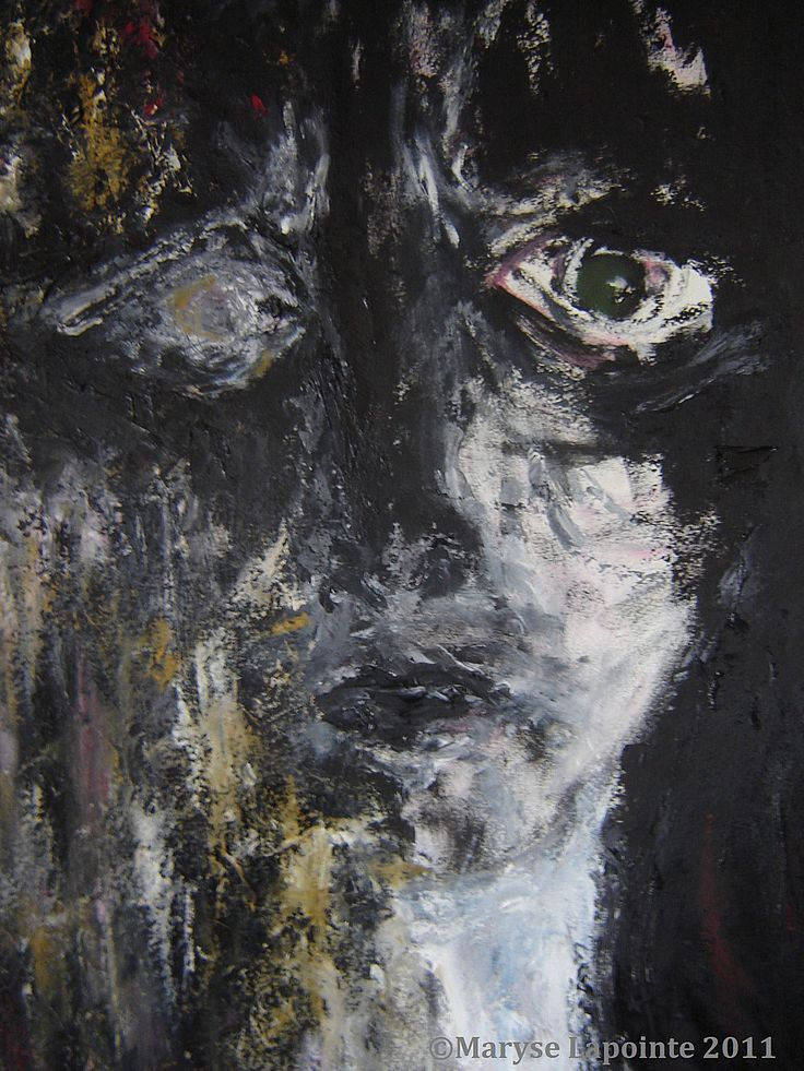Cassandre 3 - 2011 Huile/papier 24 x 18 po. (60 x 45½ cm) 500$