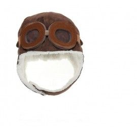 Aviator Pilot Beanie with Goggles