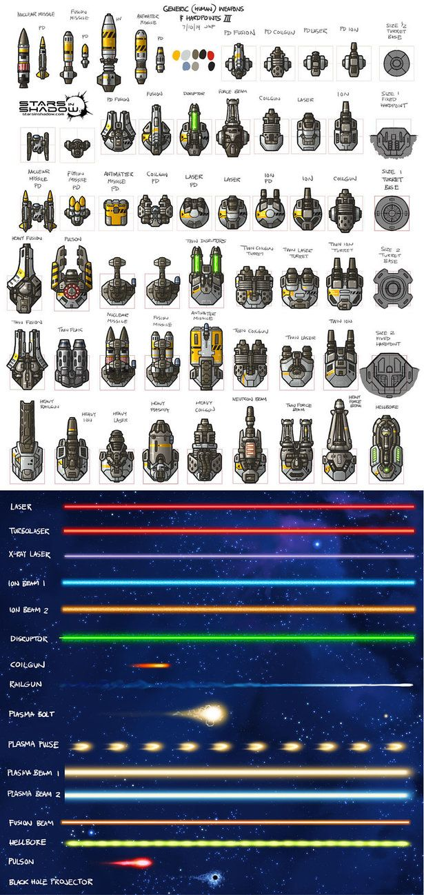 Yoral ship assets for the Stars in Shadow game project. The Yoral have rugged small ships with potent short-range weapons. They often overwhelm their more sophisticated opponents with sheer numbers...