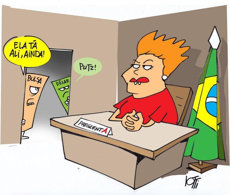 """E Viva a Farofa!: Dilma pendurada no pincel, sem escada. """"Esta semana, as bancadas do PT no Senado, primeiro, e na Câmara, depois, solidarizam-se formalmente com as críticas do Lula ao governo e ao próprio partido. Esse posicionamento não deixa dúvidas, pois acopla-se ao sentimento da imensa maioria das bases petistas. Traduzindo: a presidente Dilma está num mato sem cachorro."""""""