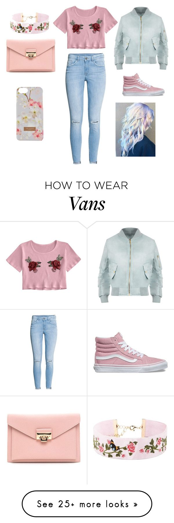 """""""Pastel"""" by sabrina-oliveira-2 on Polyvore featuring Vans, WearAll, Forever 21 and Ted Baker"""