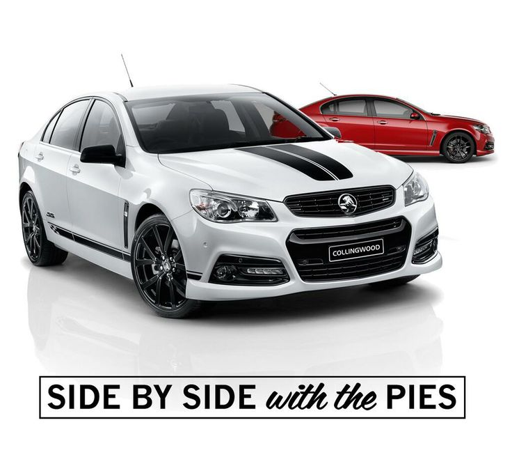 Holden Releases Special Edition Black And White Collingwood Sedan