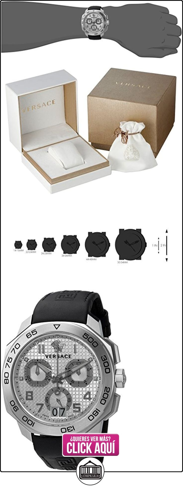 Versace-Dylos Chrono Reloj de vqco70015  ✿ Relojes para hombre - (Lujo) ✿ ▬► Ver oferta: http://comprar.io/goto/B01A55HB4W