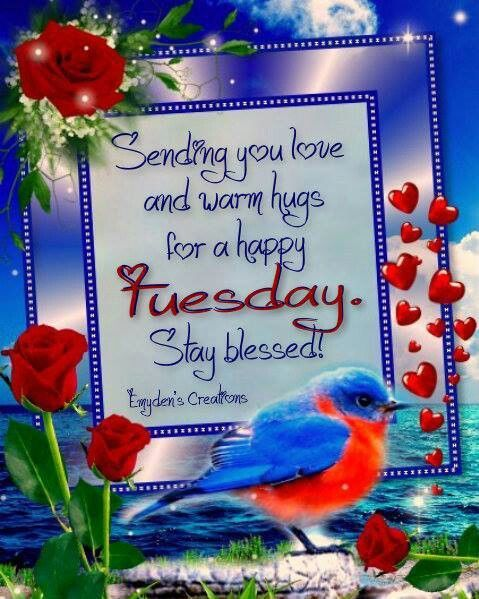 Sending you Tuesday love