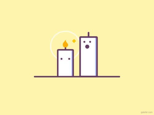 Candles (by Gal Shir)  DESIGN STORY: |Tumblr | Twitter |...