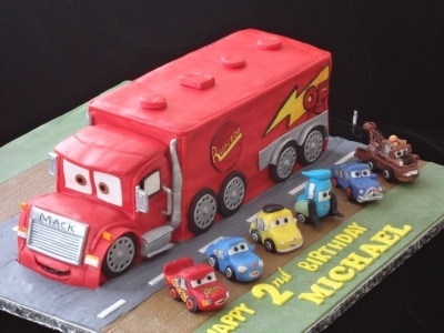 Truck cake By Bella111 on CakeCentral.com
