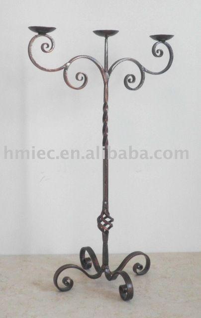 Candelabros de hierro forjado-en Soportes para velas de Decoración de Hogar en m.spanish.alibaba.com.