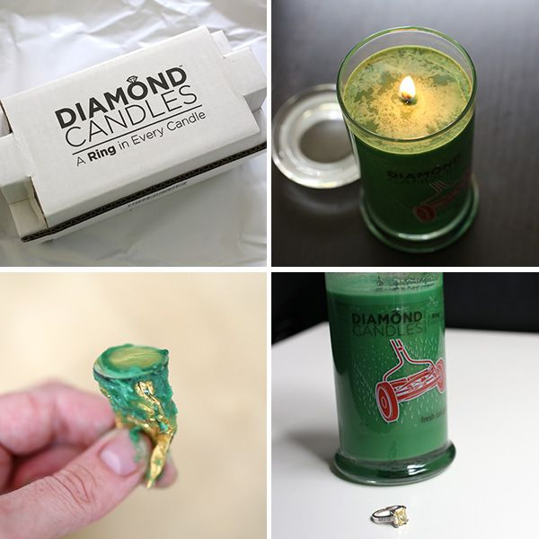 Diamond Candles this is a nice article if you click the image it show you how you can tell if you diamond candle ring its worth anything without taking it a jeweler