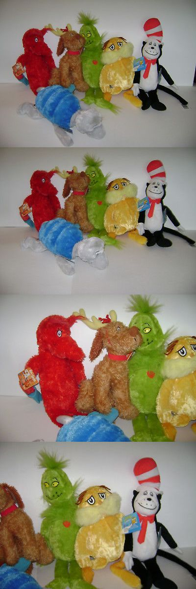 Dr Seuss 20906: Lot Of 6 Dr. Seuss Kohl S Cares For Kids Plush Stuffed Cat Dog Grinch Fox Lorax -> BUY IT NOW ONLY: $119.99 on eBay!
