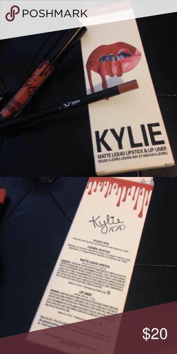 Dolce K Kylie Jenner Lip Kit BNIB Brand new in box Dolce K Lip kit from Kylie Jenner. Comes with liner and liquid lipstick. Enjoy! Kylie Cosmetics Makeup Lipstick