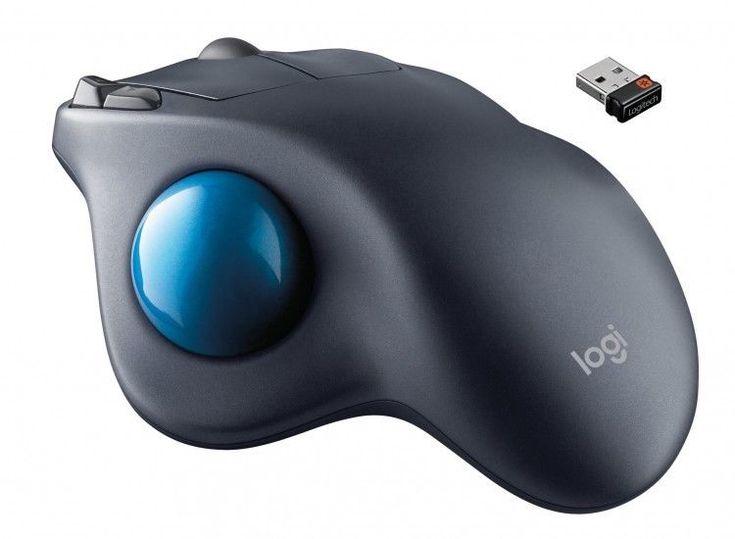 Wireless Trackball Mouse Laser Laptop Desktop Mice Programmable Buttons Gaming #Logitech