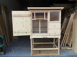 BIRMINGHAM-ROLLERS-KIT-BOX-RACING-PIGEONS-TIPPLERS-LOFT-WITH-NEST-BOXS