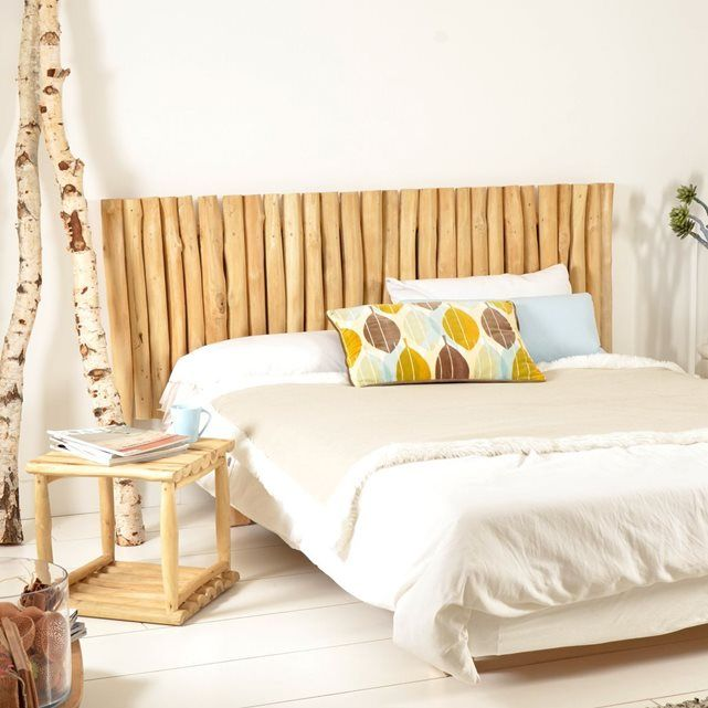 17 best ideas about t te de lit en bois flott on pinterest plage t te de lit dosseret. Black Bedroom Furniture Sets. Home Design Ideas