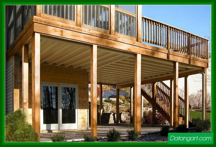 599 best images about landscaping outdoors on pinterest for Garage under deck