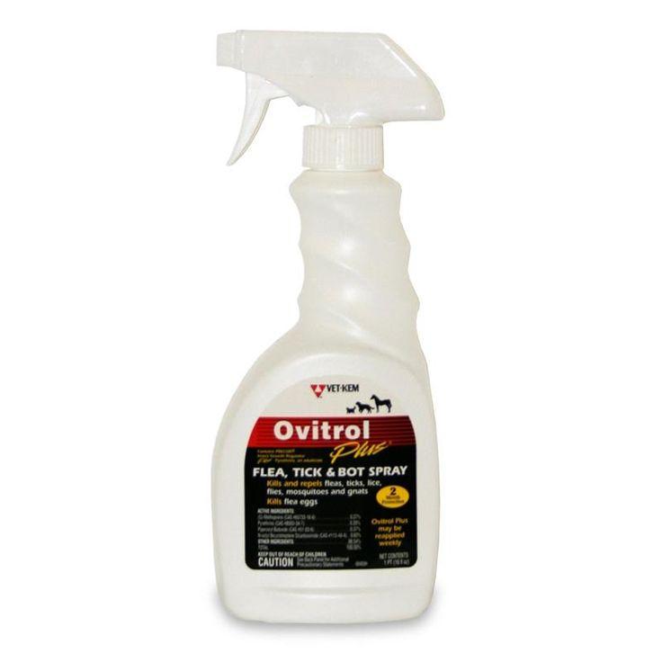 Ovitrol Plus Flea, Tick And Bot Spray 16 OZ | Buy Ovitrol Plus