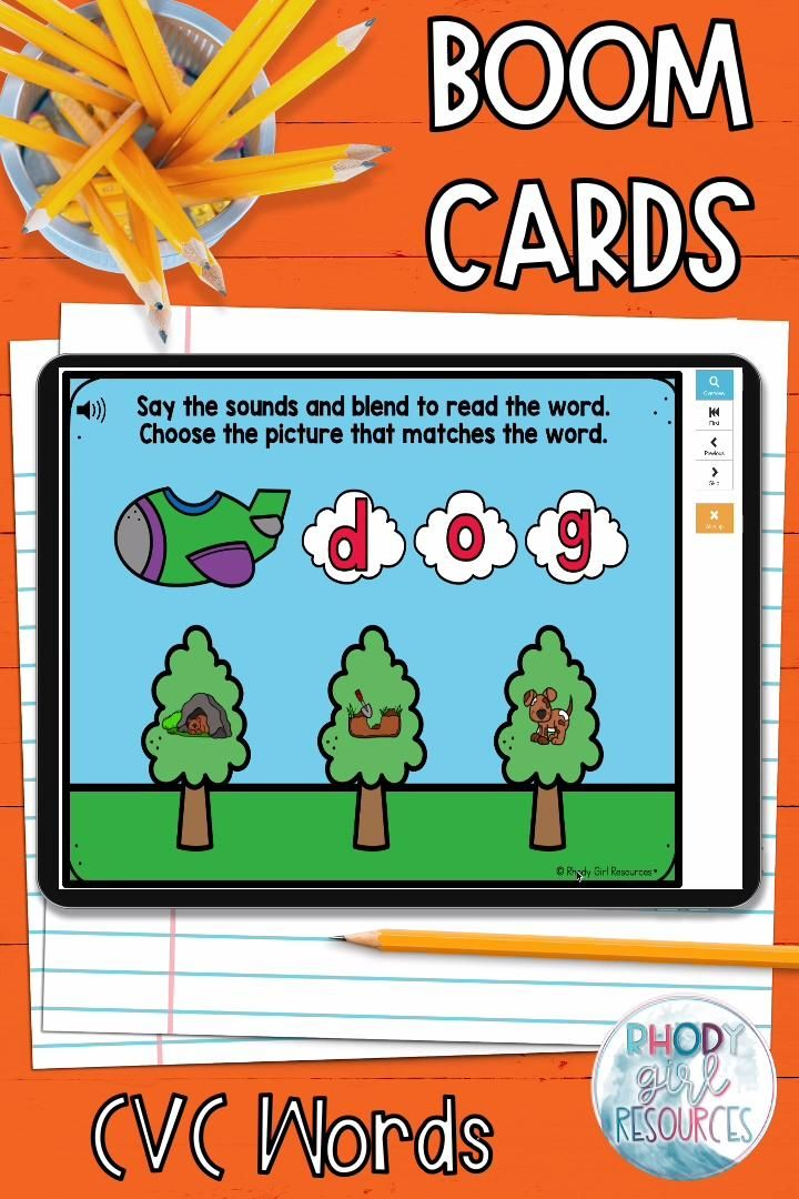 Cvc Words For Boom Video In 2021 Cvc Words First Grade Resources Phonics Activities