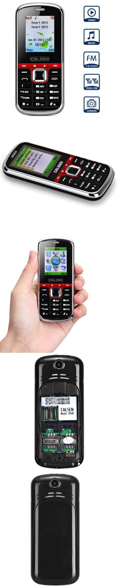 D500 Dual Band Cell Phone with 1.8 inch Screen Dual SIM Bluetooth Camera