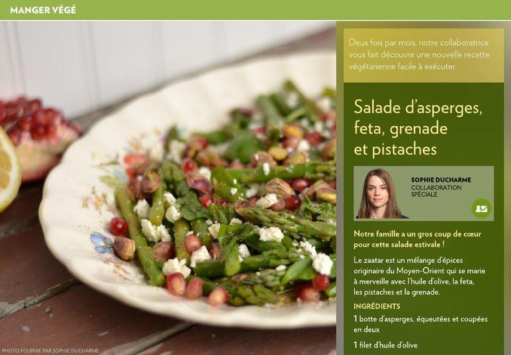 Deux fois par mois, notre collaboratrice vous fait découvrir une nouvelle recette végétarienne facile à exécuter.