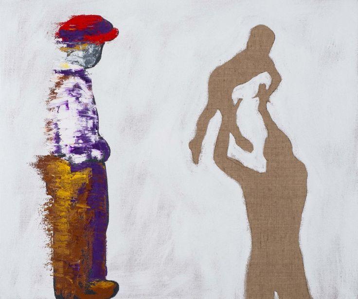 Hannu Palosuo - Talkin' loud sayin' nothing - 120x100 cm - 2014