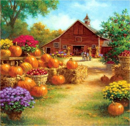 Image result for pictures of barns in the fall