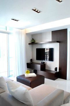 good built in for small living room tv spaces