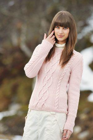 1011: Modell 4 Genser #strikk #knit #fjells