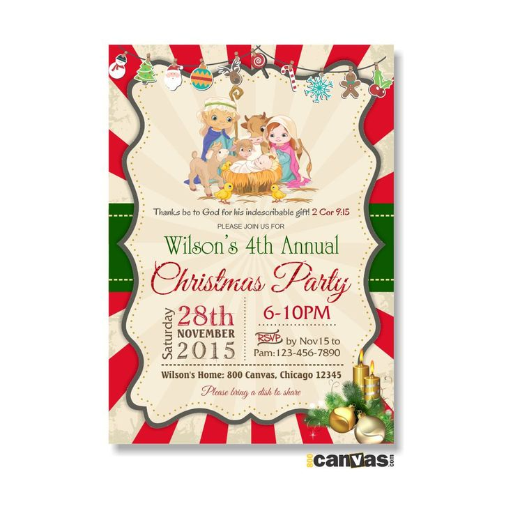 101 best Seasonal Invites images on Pinterest | Invites, Christmas ...