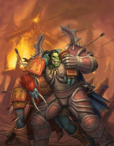 Orc and Troll, the old brotherhood of the Horde before Garrosh put a rift in things.