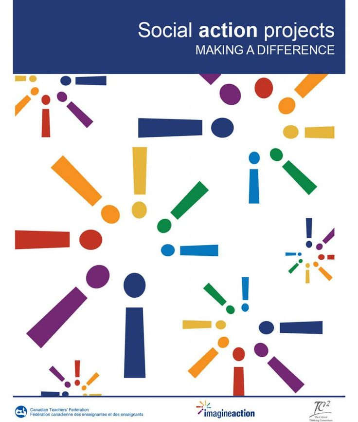 ($4.00) Social Action Projects - Making a Difference. This handbook is for teachers who want to involve their students in social action projects.