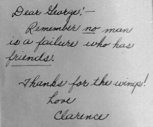 Clarence's note to George