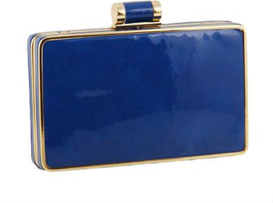Sondra Roberts Patent Leather Minaudiere on shopstyle.com