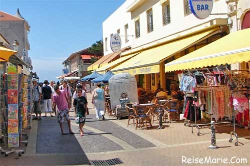 Soulac-Sur-Mer, France. We used to walk this little street up to the beach all the time :) it looks so small compared to what I remember!