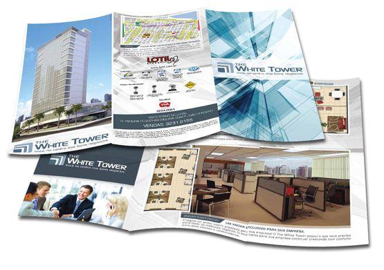 A comunicação integrada desenvolvida pela A+ para o lançamento do White Tower atrai o público ao stand de vendas para apresentar o grande empreendimento.