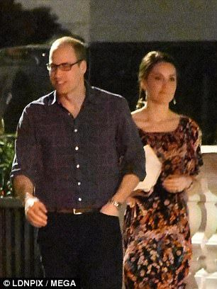 The Duke and Duchess of Cambridge were introduced to Pippa Middleton's future in-laws seve...
