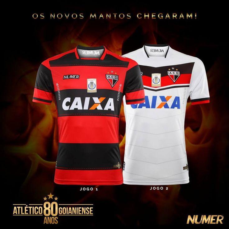 Camisas do Atlético Goianiense 2017-2018 Numer