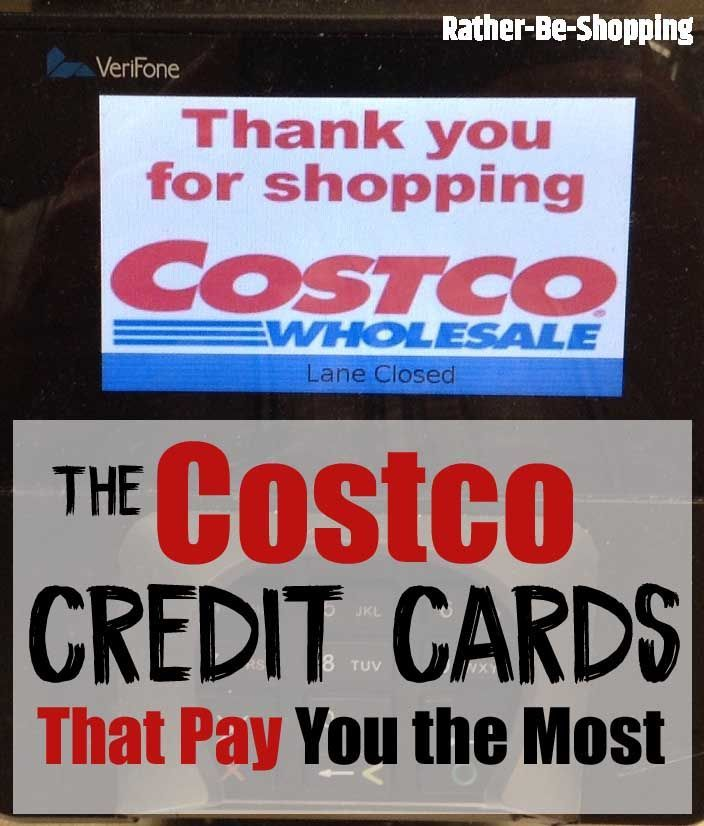 Which Costco Credit Card Pays You The Most Money Credit Card