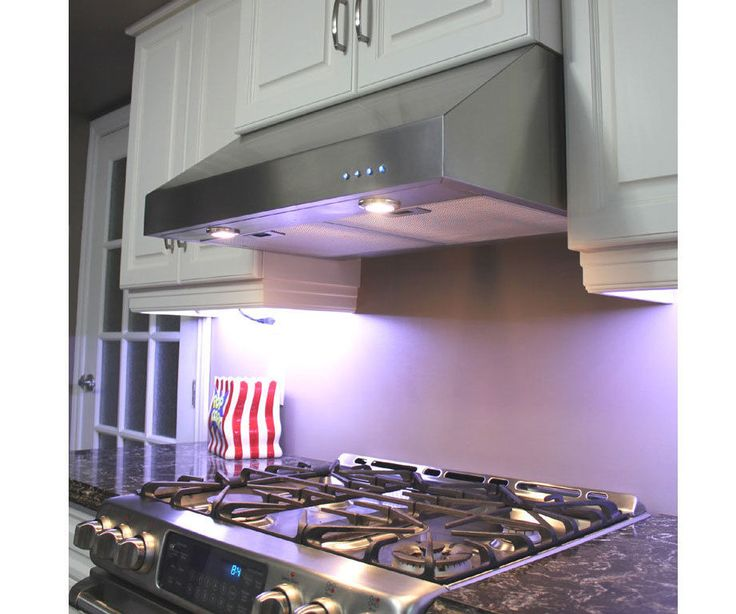 Under cabinet range hood 36 stainless steel ebay for Kitchen ideas under 5000