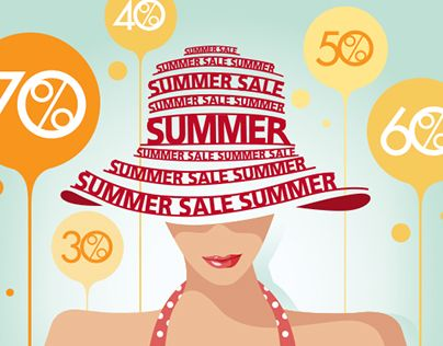 """Check out new work on my @Behance portfolio: """"SummerSale - Riccardo.pl"""" http://on.be.net/1VPn7dw"""