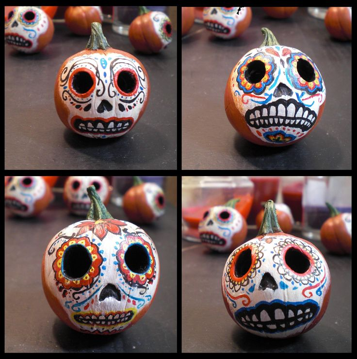 Ah! Perfect way to combine Halloween and Day of the Dead!