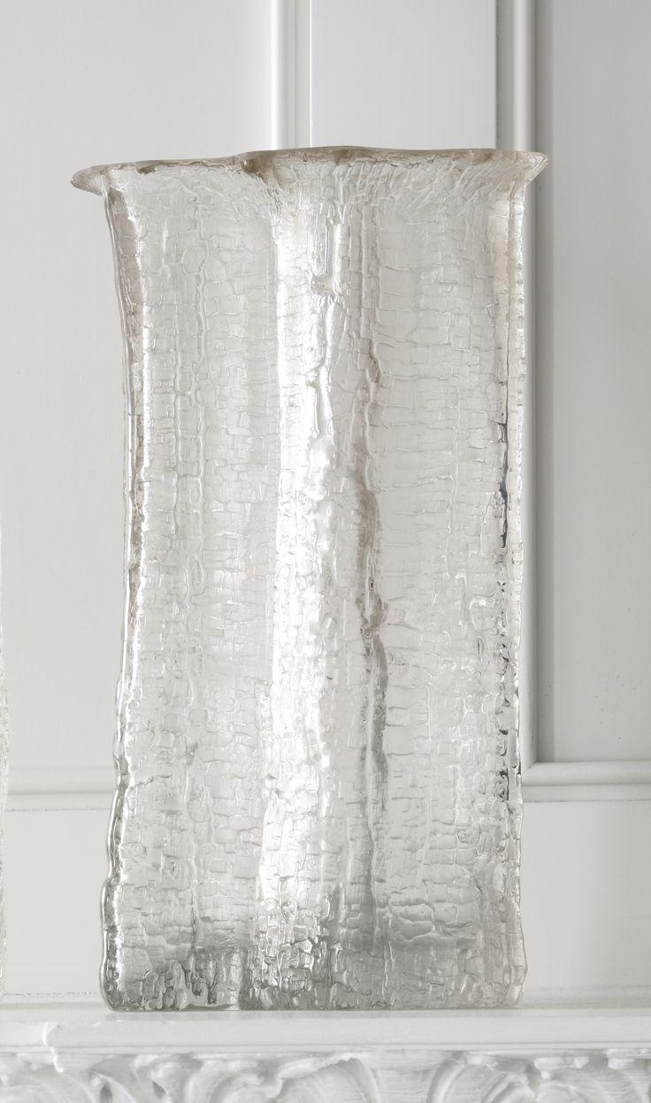 "Timo Sarpaneva VASE FROM THE ""FINLANDIA"" SERIES incised TIMO SARPANEVA-3559 glass 12 in. (30.5 cm) high circa 1964 produced by Iittala, Finland"