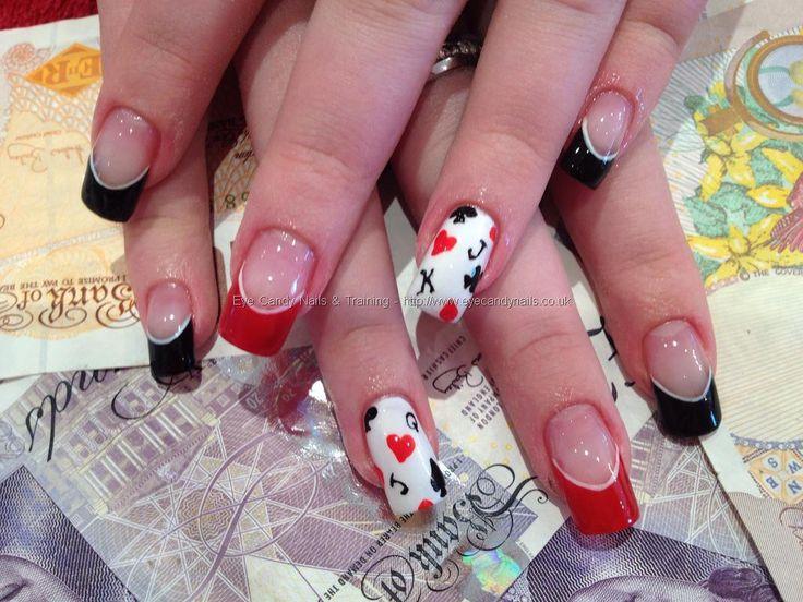The 25 best vegas nail art ideas on pinterest las vegas nails nail technicianelaine moore description freehand black jack nail art eyecandynails prinsesfo Image collections