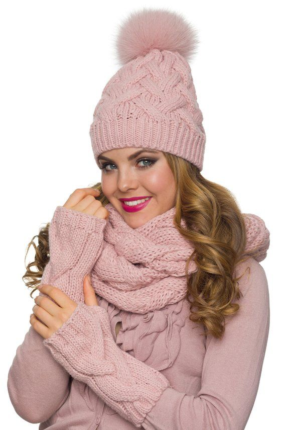 Hat Scarf Gloves Set Hat Scarf Combo Hat Scarf Mittens Hat Etsy Hat Scarf Gloves Set Winter Hats For Women Hat Scarf Combo