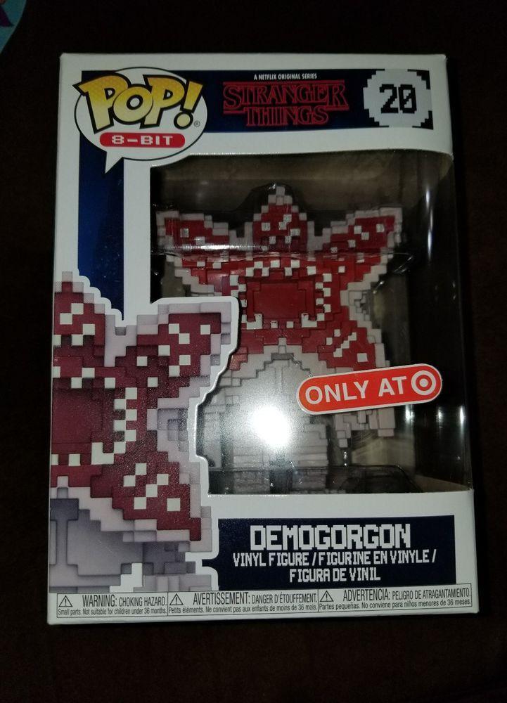 Funko Pop 8 Bit Stranger Things Demogorgon Target