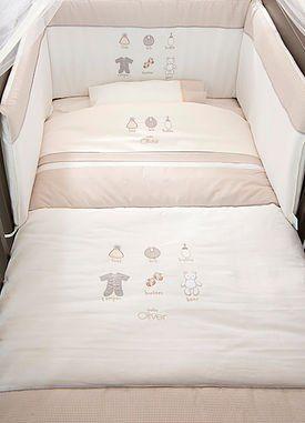 Baby Oliver Bettwäsche 100 x 135 cm, Kopfkissen 40 x 60 cm: Amazon.de: Baby