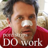 so biore pore strips DO work - hollywood housewife