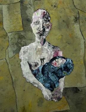 "Saatchi Online Artist Miseon Yoon; Mixed Media, ""Mother#3"" #art"