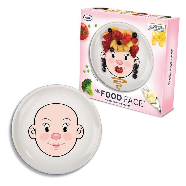 Food Face Teller - Frau