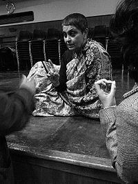 Gayatri Chakravorty Spivak -  an Indian literary theorist, philosopher and University Professor at Columbia University