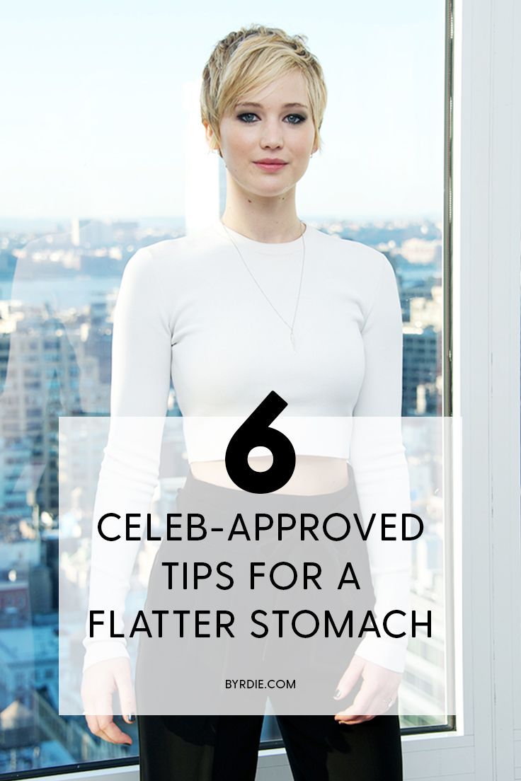 How to get a flatter stomach according to Jennifer Lawrence and other celebs